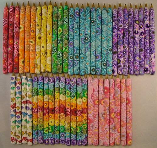 polymer clay pens - Google Search