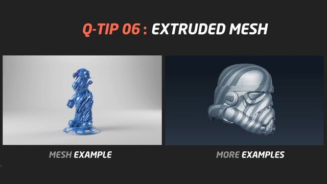 "In this Zbrush's tip I will show you an easy way to extrude a mesh from any 3D object. All you have to do is import your OBJ file in Zbrush, then subdivided (the amount of subdivision depends on each object) and go to ""surface"" > noise plugin and play with the different noises / scale / rotation / etc... After that, mask the noise and make that selection sharper (optional). After that, go to subtool and extrude it to get the new mesh! EASY! As a tip, I would recommend as well to go to…"