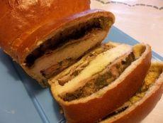 Pane Giapponese con Pesto e Prosciutto Cotto