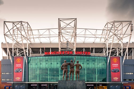 The Famous Old Trafford Stadium, home to the most successful Football team in England. Manchester United #MUFC