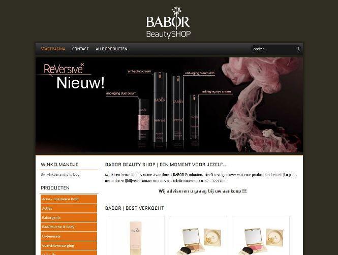 Babor Beauty #Shop is de webshop voor #schoonheidsproducten en lichaamsverzorging. Een #webshop van de schoonheidssalon Babor Beauty spa Dongen.