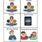 These cards can be used with any balanced literacy program. You can use these cards to schedule students literacy station activities. Included are ...