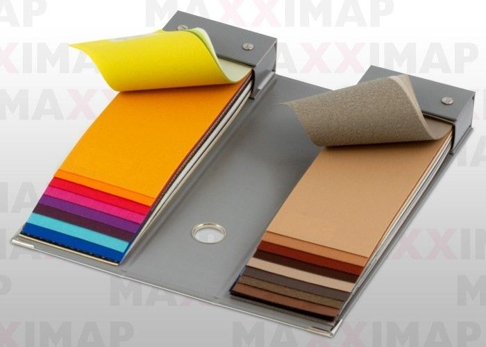 Swatch book to present fabrics