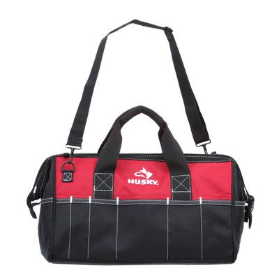 Husky 18 in. Tool Bag 82003N11 at The Home Depot - Mobile