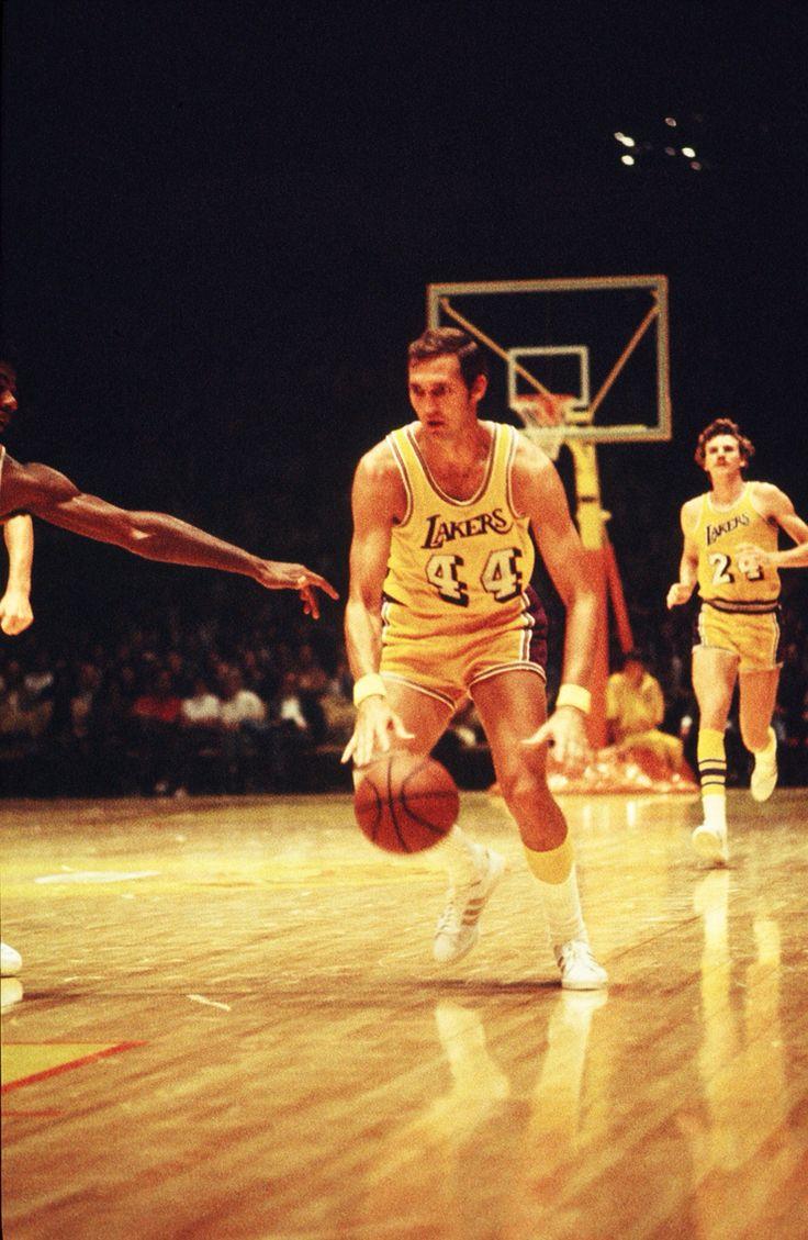 Jerry West LA Lakers Nba logo, Basketball players, Nba