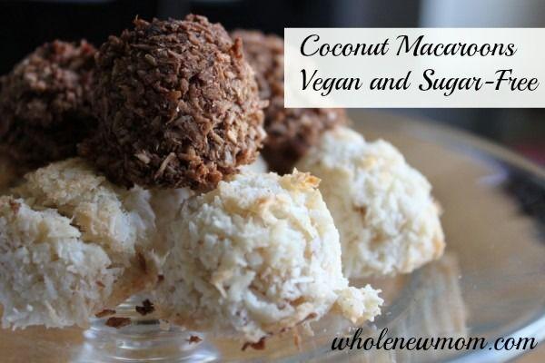Egg-Free Coconut Macaroons