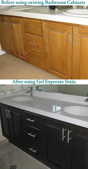 Gel Staining Kitchen Cabinets Endearing Design Decoration
