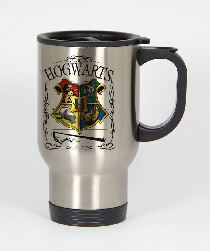 Hogwarts Alumni school Harry Potter travel mugs coffee mug tea mug Size 14oz One Size Stainless Steel