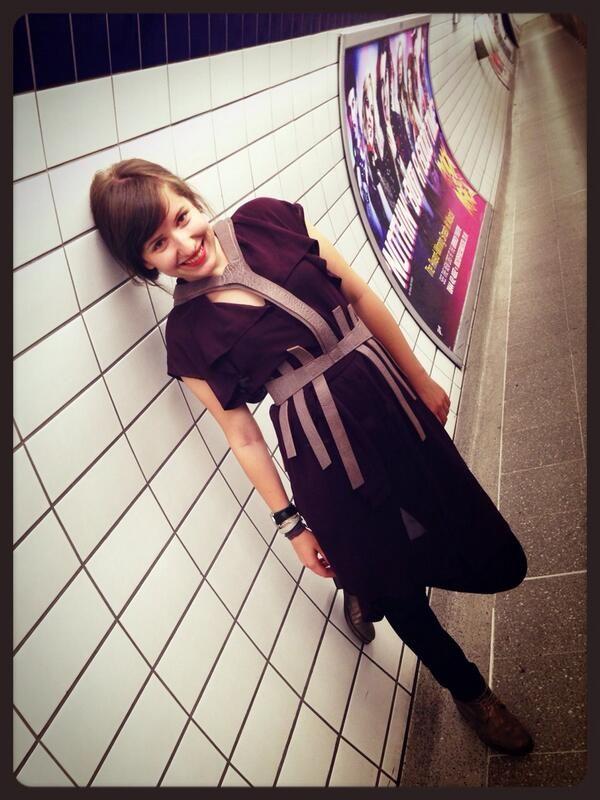 Twitter#wearitsimple!#leatherpiece#londonunderground