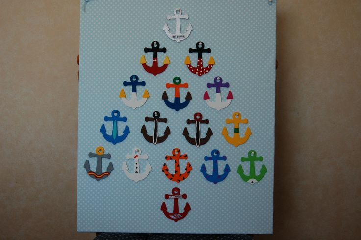 Disney Cruise Painted Wooden Character Anchors Disney
