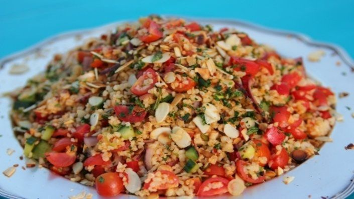 You'll find the ultimate Siba Mtongana Harissa Tabbouleh recipe and even more incredible feasts waiting to be devoured right here on Food Network UK.