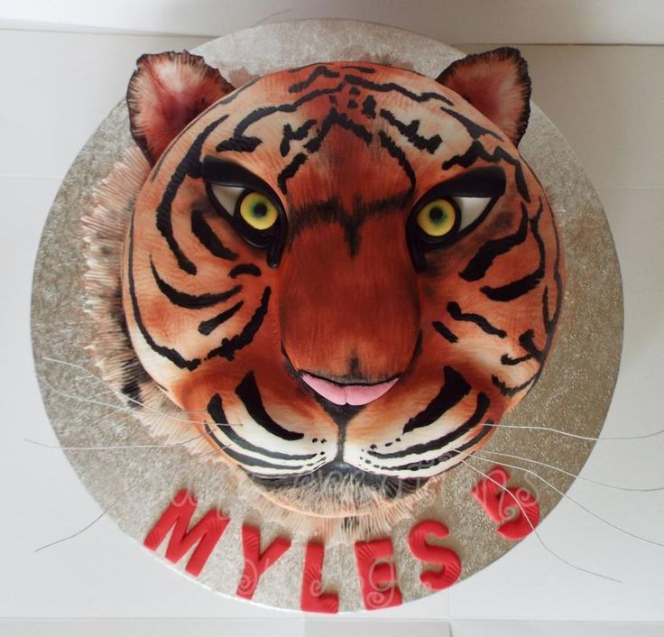 Tiger cake - Cake by Cake Creations by Aga