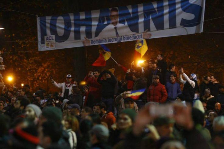 Klaus Iohannis is the new president elect of Romania. Klaus Iohannis is the first liberal President of Romania. (FOTO: Adevarul)