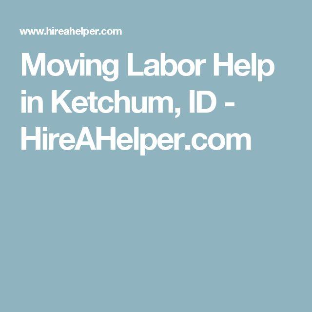 Moving Labor Help in Ketchum, ID - HireAHelper.com
