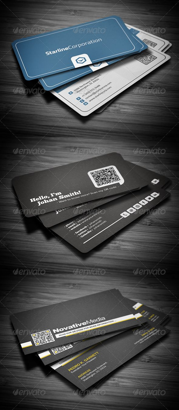 33 best business cards images on pinterest business card design buy business cards bundle by flowpixels on graphicriver this bundle package includes 3 business card templates which can be used for almost any kind of colourmoves