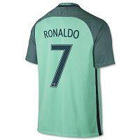 Portugal National Team 2016 RONALDO #7 Away Soccer Jersey [D751]
