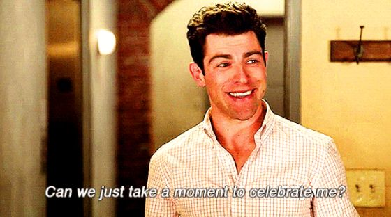 When he was completely, 100% into himself: | 24 Hilarious Schmidt Quotes That Will Never Get Old