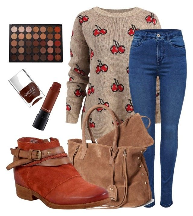 """""""Casual for fall"""" by tothmerci on Polyvore featuring Morphe, Miz Mooz, MAC Cosmetics and Nails Inc."""
