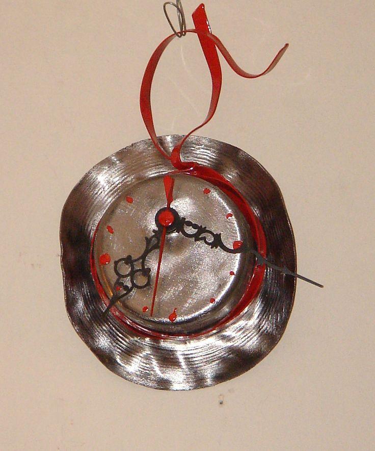 Handmade Wall clock by MsArt Sideropoulos Hank
