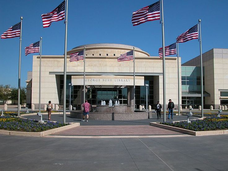 College Station, TX : George Bush Presidential Library at Texas A University