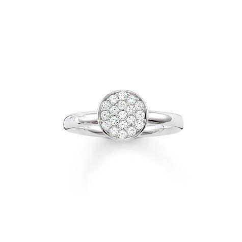 Thomas Sabo ring TR2050 Z15 wit