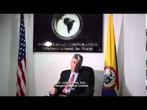 Proceso judicial de arresto emitido por una Agencia Estadounidense