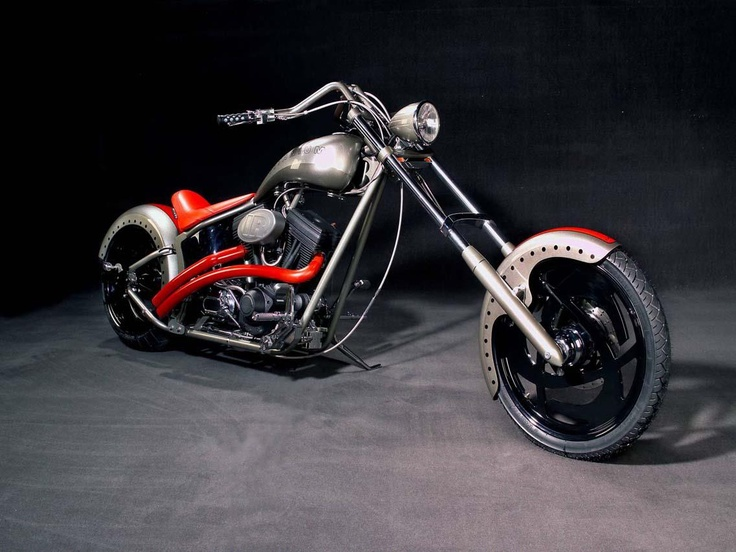 Ingersoll Rand's tools are often used by the Orange County Choppers. They made this motorcycle in honor of Ingersoll Rand's titanium Impactools. This motorcycle features titanium parts. It was given away in a contest. What will we give away next? Stay connected at facebook.com/ingersollrand and follow us on Twitter @IRProducts.