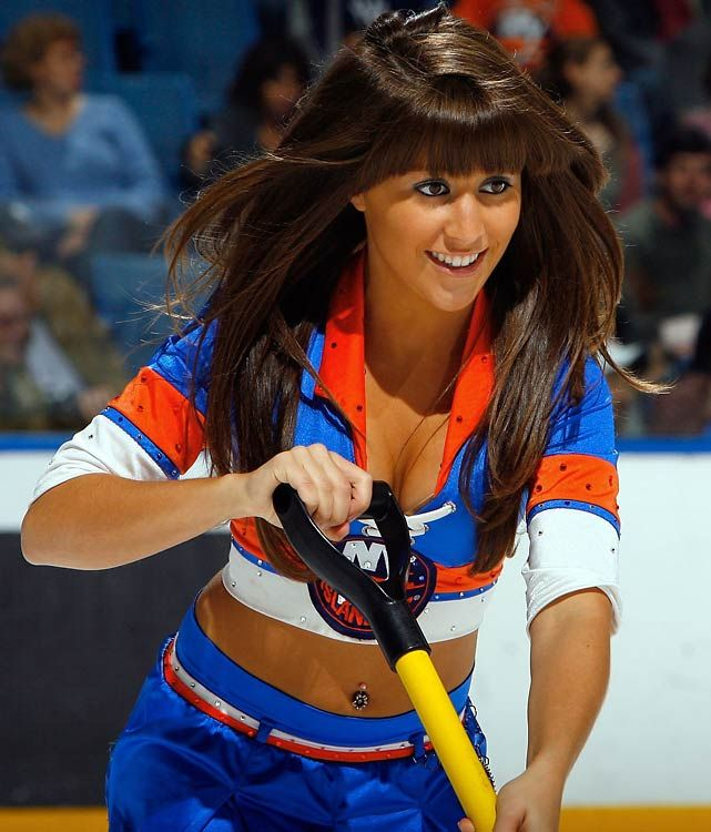 New York Islanders Ice Girl | NHL Ice Girls | Pinterest