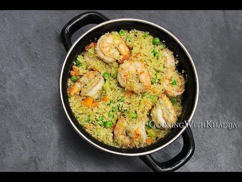 CousCous With Shrimps - CousCous Met Garnalen - CousCous Aux Crevettes - YouTube