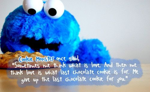 I want cookies from Cookie Monster !