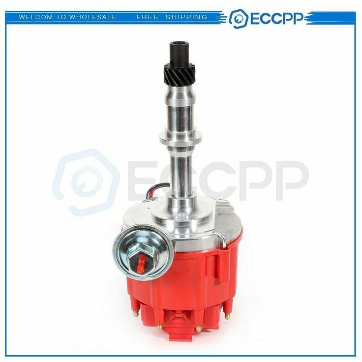 Pontiac 301 326 389 400 421 428 455 V8 HEI One Wire Distributor Red Cap Complete