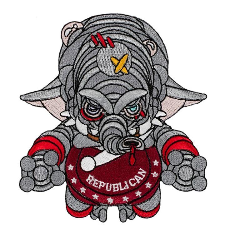 Alpha Industries Republican Patch