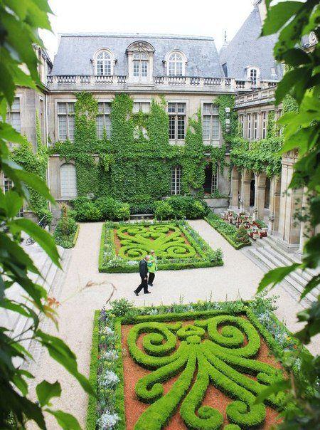Музей истории Carnavelet в Париже, Франция
