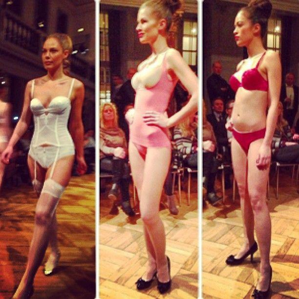 Triumph underwear used our high heels for their runway last night. Woop woop!