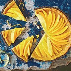 Тарт, рецепт с манго  Тарт - несложный в приготовлении, но такой разнообразный пирог! В этот раз тарт рецепт шоколадный с манго! Как приготовить? - на страницах журнала Джейми Оливера!