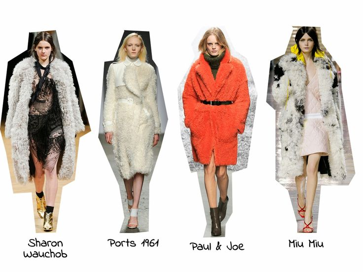 StyleSpectra: Trend Report A/W 14 - Shearling