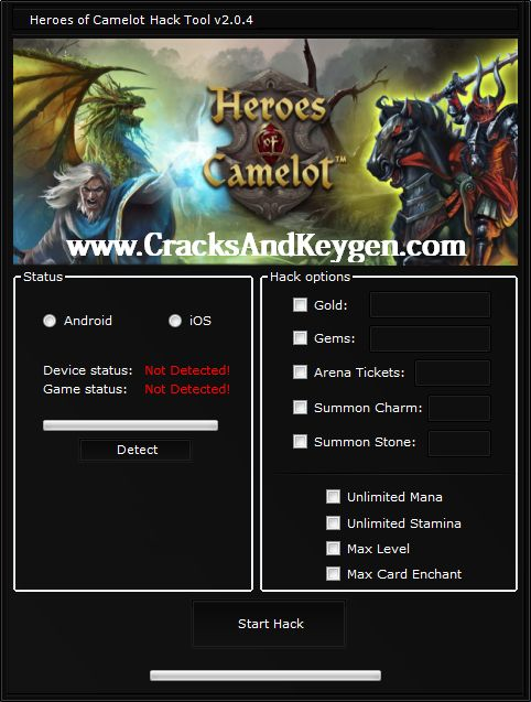 Heroes of Camelot Hack Free Download