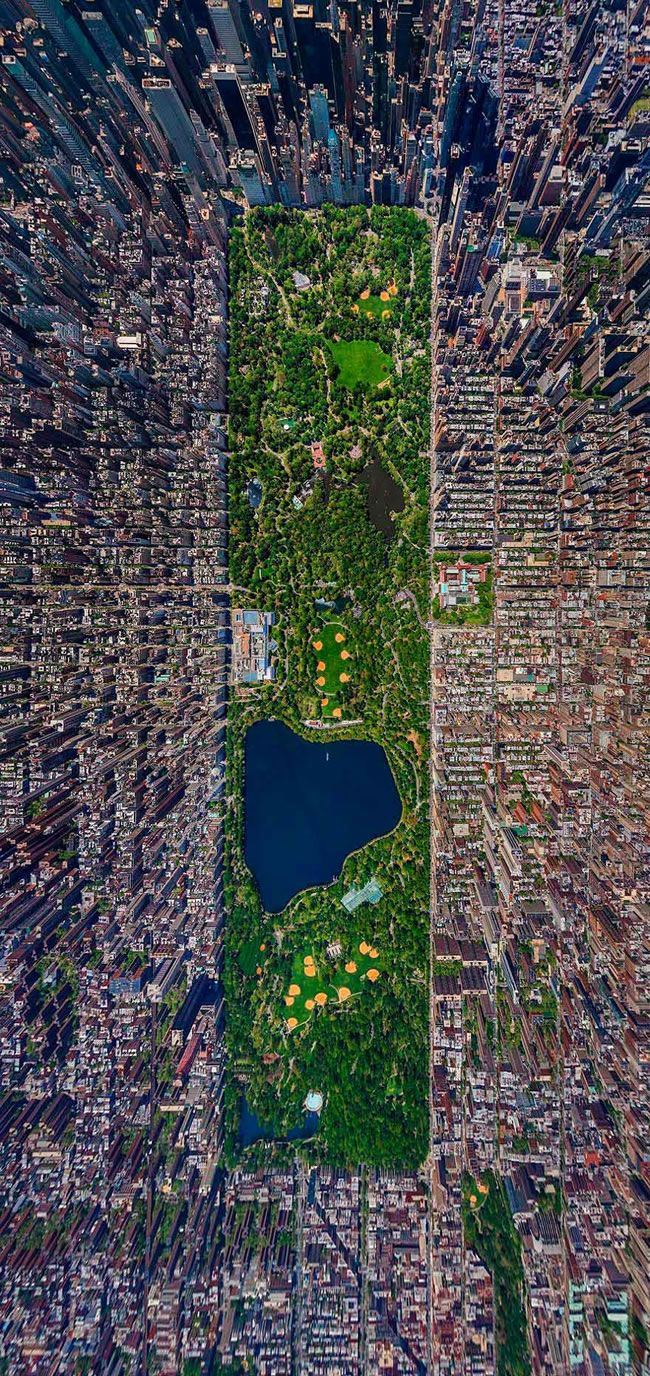 Spectacular Pictures Showing A Different Perspective Of Famous Landmarks – Hughes News Today