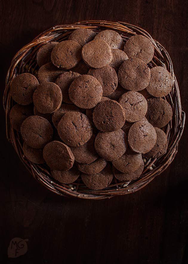 Galletas de chocolate sencillas | Recetas con fotos paso a paso El invitado de invierno