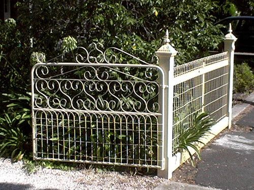 californian bungalow fences - Google Search