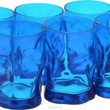 Набор стаканов Bormioli Rocco Сордженте Аква, цвет: голубой, 6 шт. 340420MP1321706
