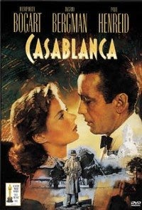 Casablanca: Starring Humphrey Bogart, Ingrid Bergman, and  Paul Henreid.