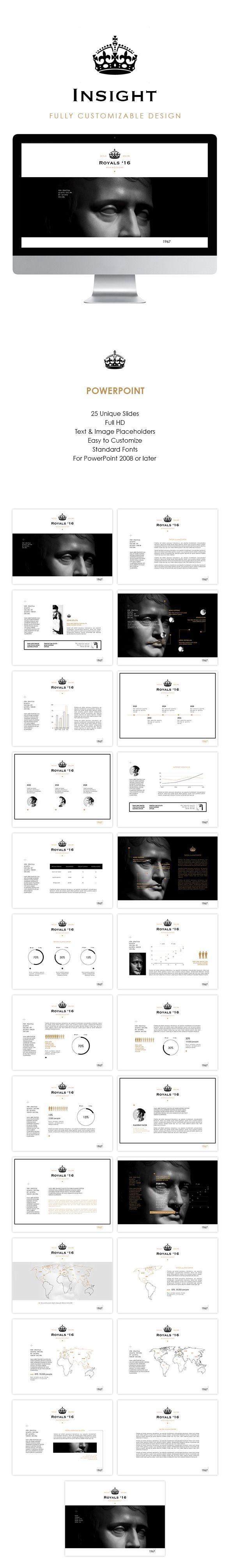 Insight minimalistic PowerPoint presentation Template #design #slides Download: http://graphicriver.net/item/insight/12821366?ref=ksioks