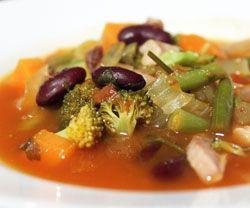 Minestrone suppe opskrift