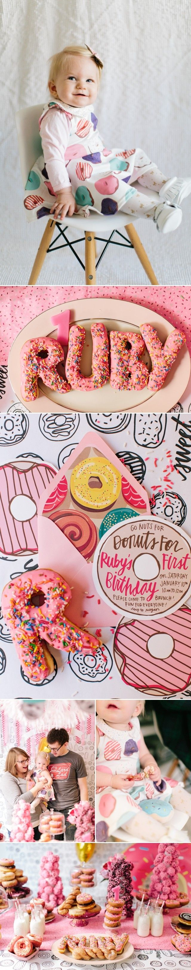 First Birthday Donut Party by Meg Ruth Photo #nationaldonutday