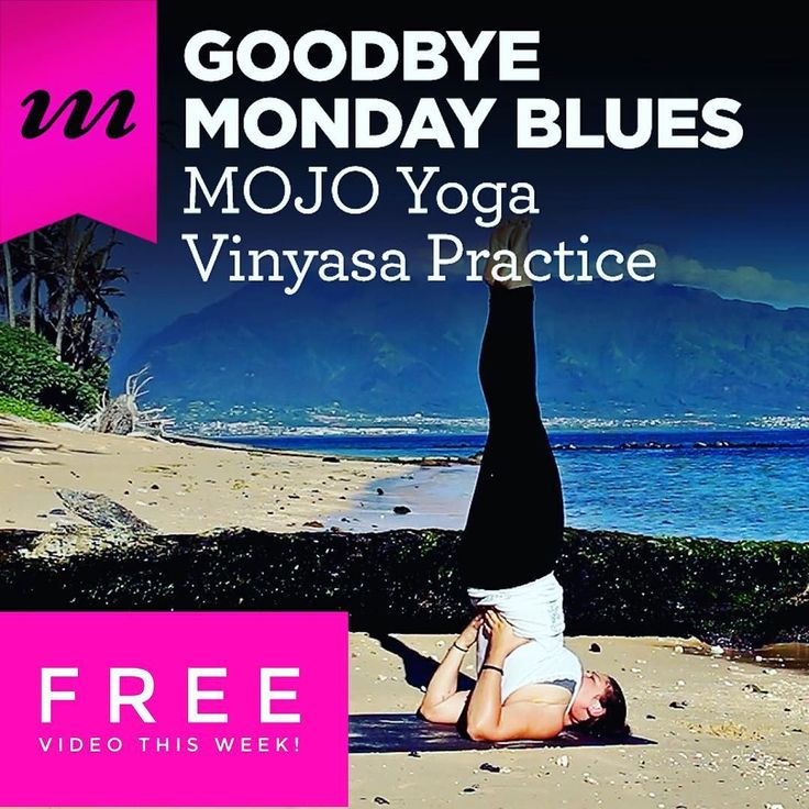 Got a case of the Mondays? Our #freevideo of the week has a cure! Check out our Goodbye Monday Blues practice with our resident ray of sunshine Allison Rote ( @yoga_mama123 ) on the #blog right now. It's a quick #yogabreak that will have you feeling better instantly!   Get this #yogavideo for free this week only over at http://ift.tt/1RSbgwc (active link in our bio). Then become a MOJO Member to have unlimited access to this and hundreds more #onlineyoga practices!   #mymojoyoga #mojolife…