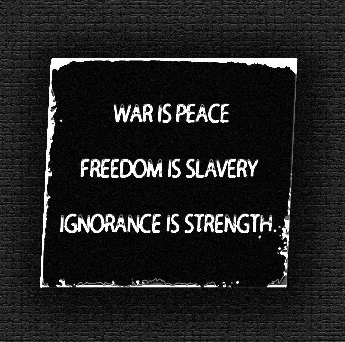 ignorance is strength 1984 essay ideas