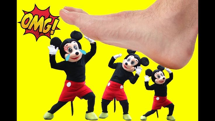 Mickey Mouse & Minnie Mouse New Episodes! Dinosaur Giant Foot! Minnie Mo...