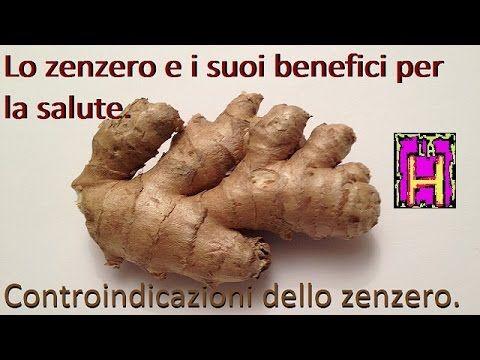 Lo zenzero e i suoi benefici per la salute. Controindicazioni dello zenzero. - YouTube