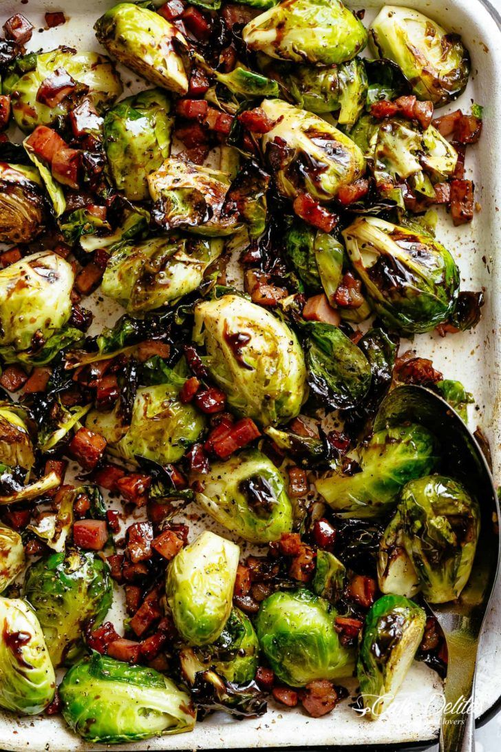 Bacon Brussel Sprouts Oven Brussel Sprouts With Bacon And